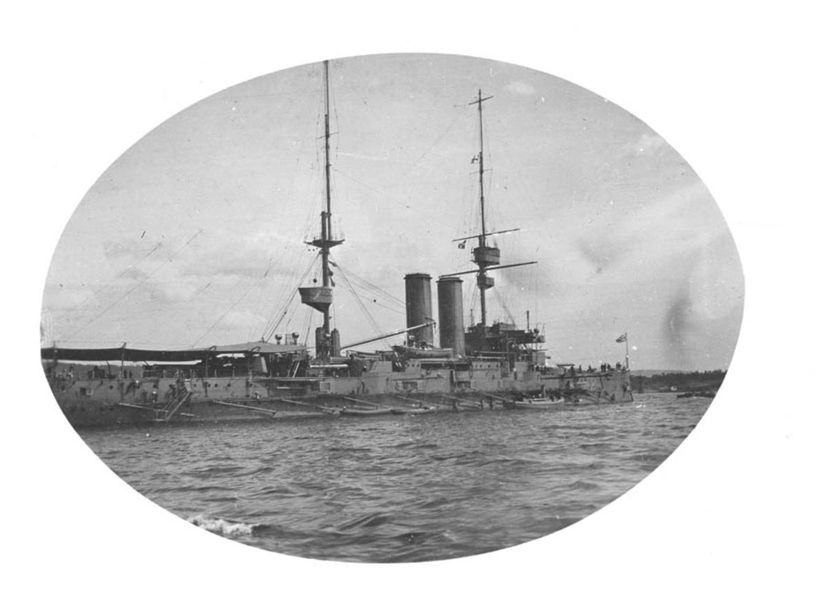 Engelsk slagskip, King Edward VII-class pre-dreadnought.
