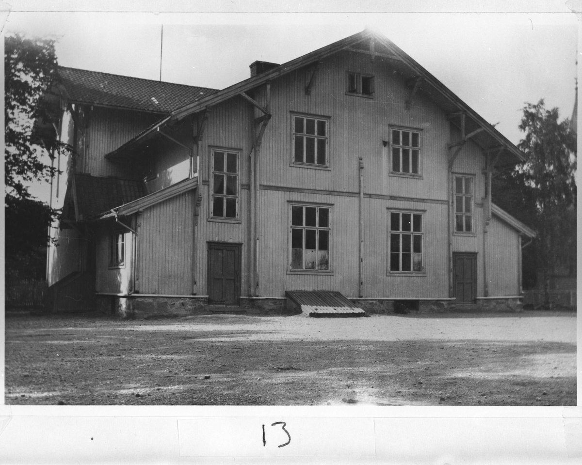 Lillestrøm bruksskoles bygning.