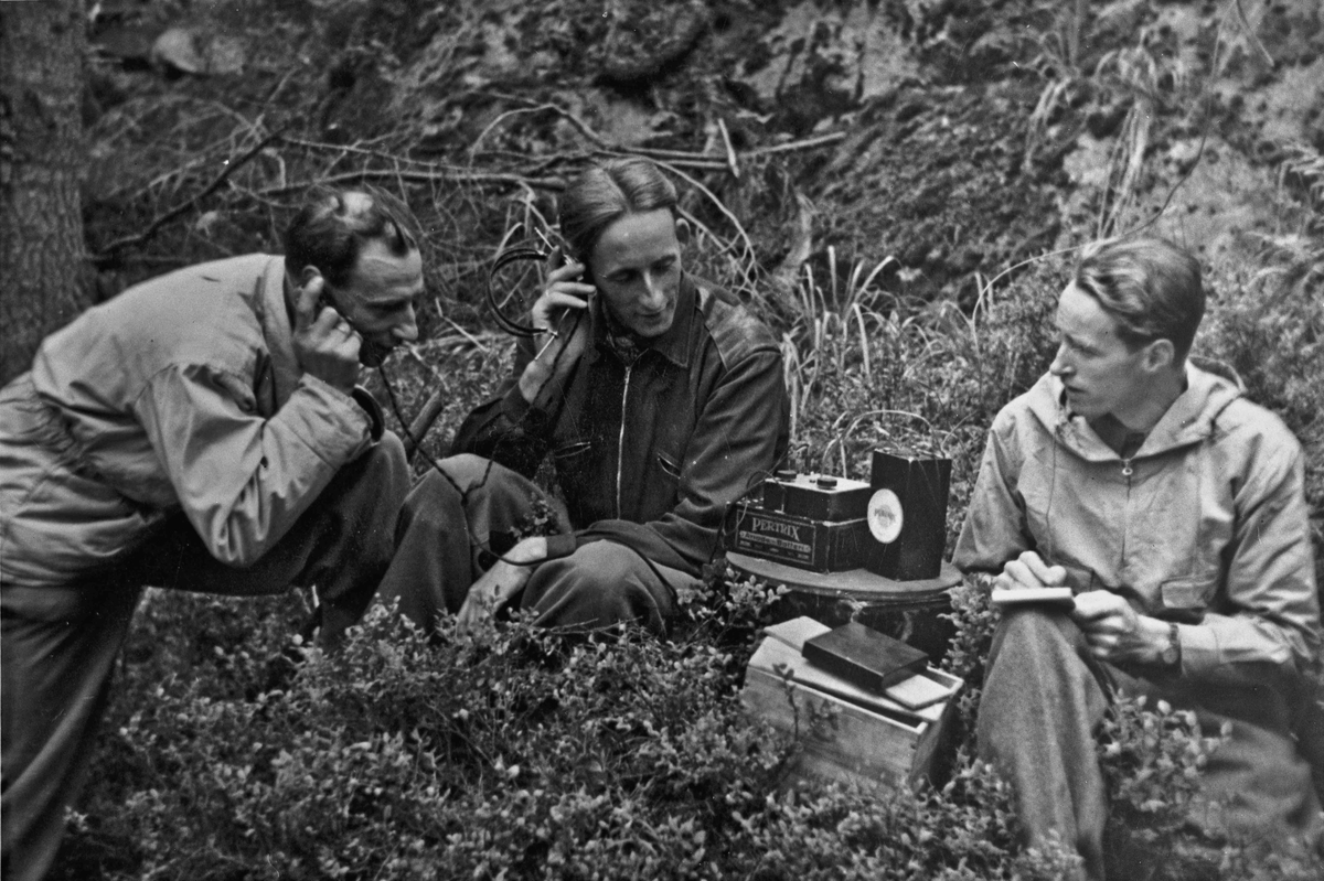 Radio eller radiosender som ble brukt under krigen.
