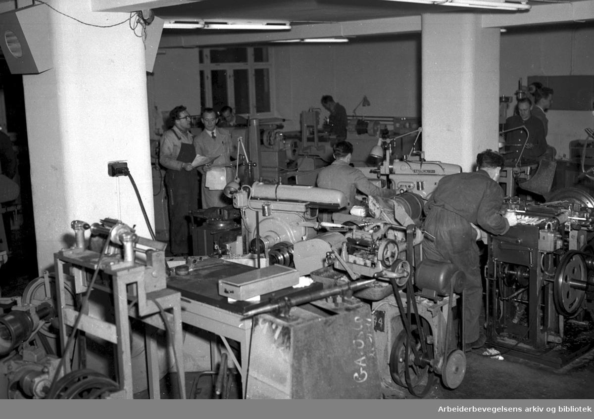 Jordan Børste- og Penselfabrikk, .januar 1952