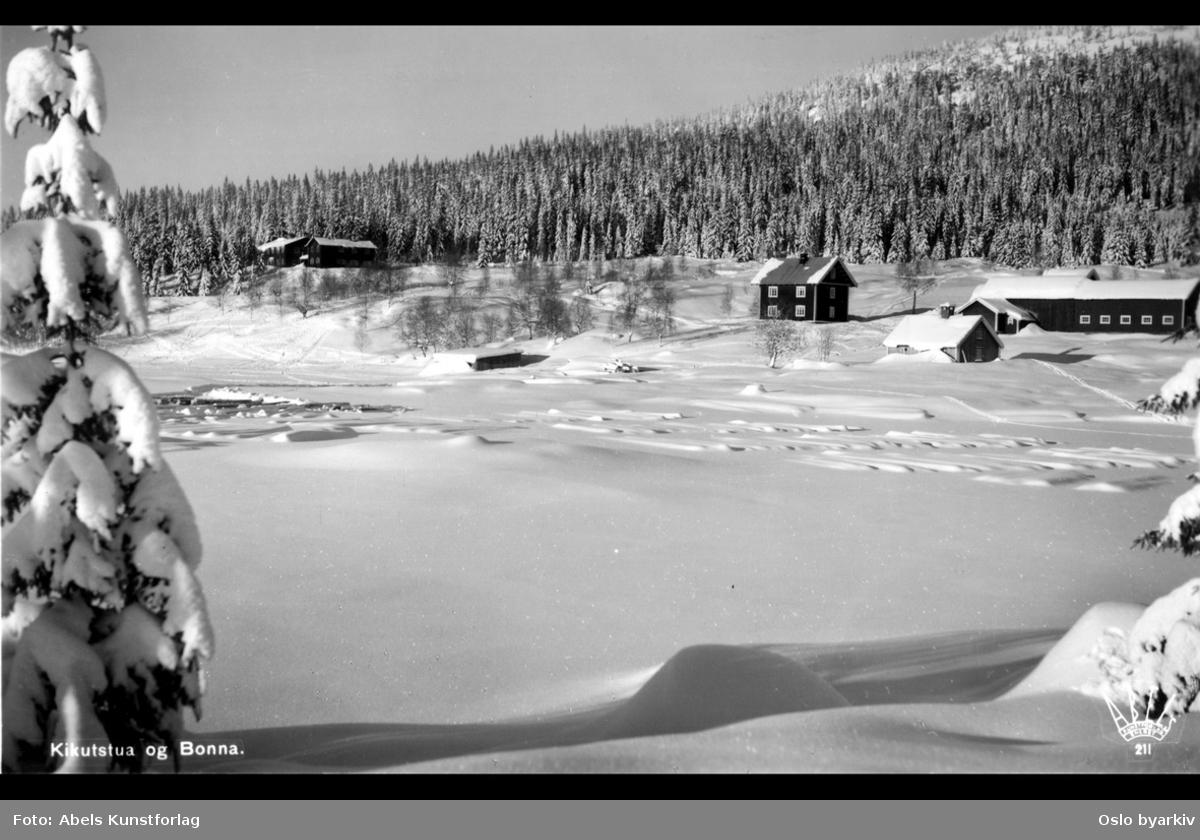 Sportstue, Løvenskioldplass ved Bjørnsjøen, vinter