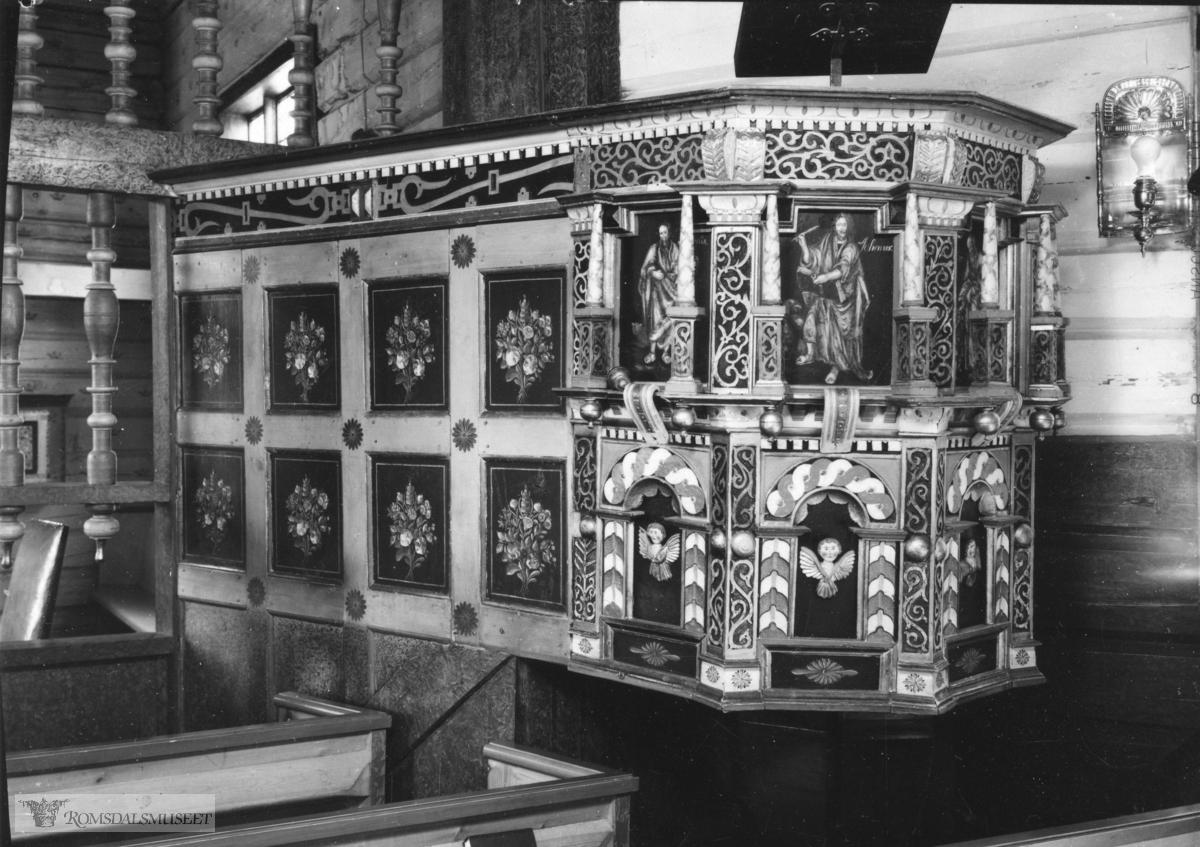 Tresfjord kirke 1947