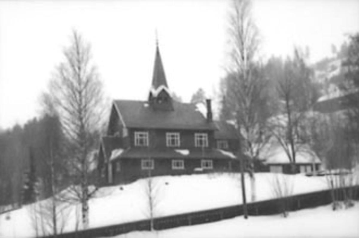 EKSTERIØR STRANDLYKKJA KAPELL, VINTER