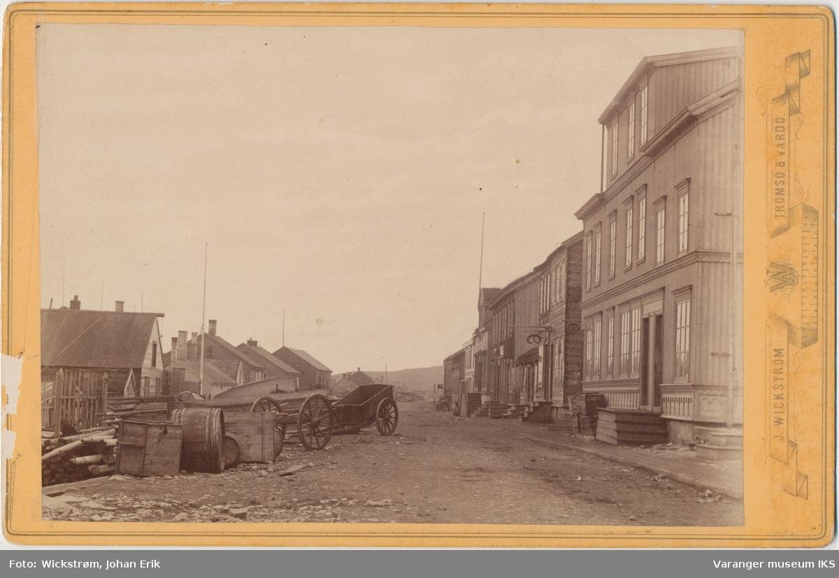 Strandgata, antatt tidlig 1880-tall