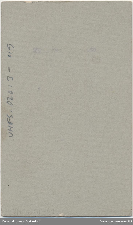 Dobbeltportrett, Olga Stensen og Nikoline Iversen, 1911