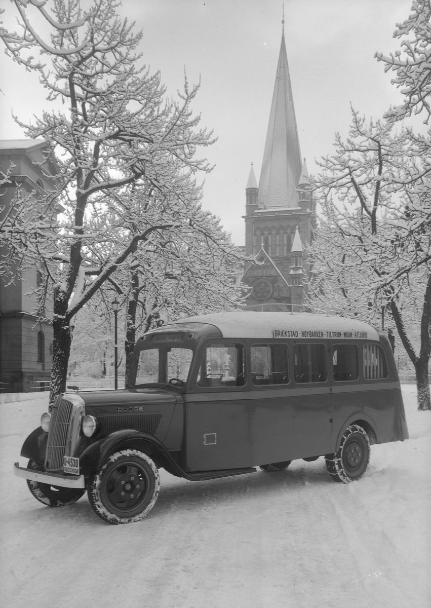 Dodge rutebuss fra Automobil Companiet A/S