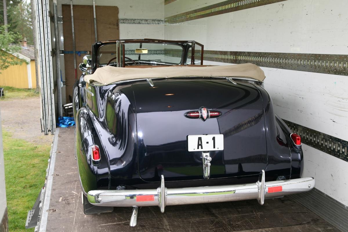 Kongens bil på Glomdalsmuseet