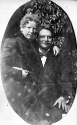 Kirsten Flagstads foreldre Marie og Michael Flagstad ca. 189