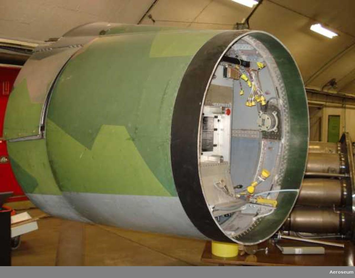 Apparatstativ till flygplan JA 37 VIGGEN