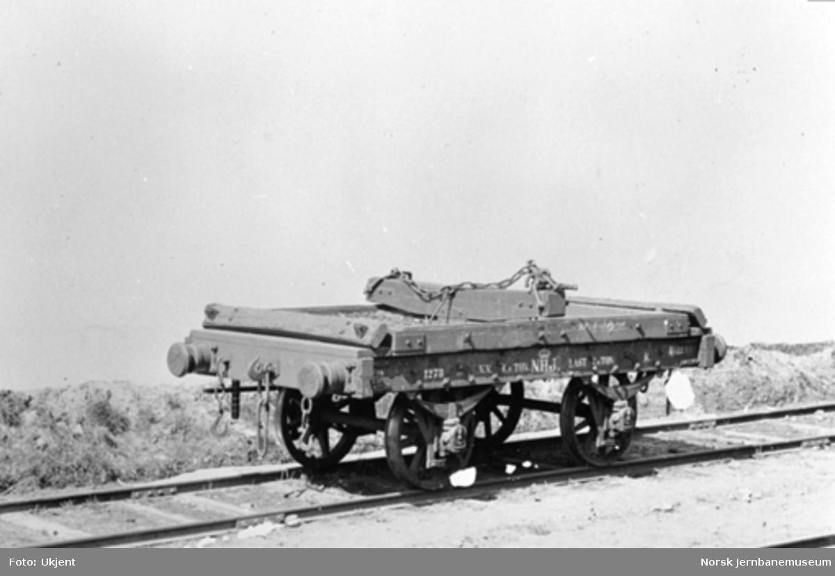 Hovedbanens tømmervogn litra K nr. 1273