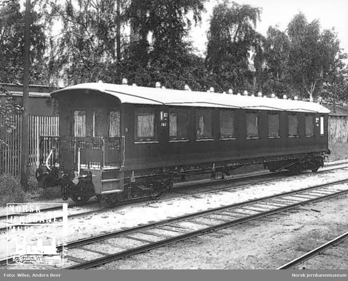 Utsiktspersonvogn for Raumabanen litra Bo3b nr. 707