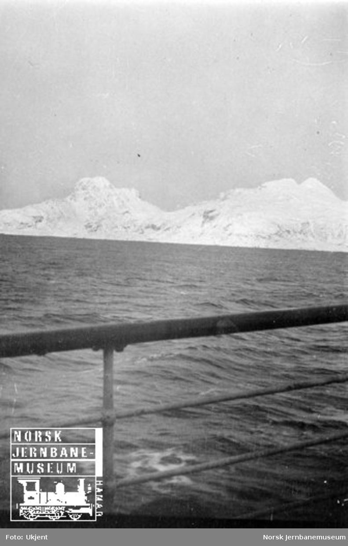 Landegode sett fra en båt