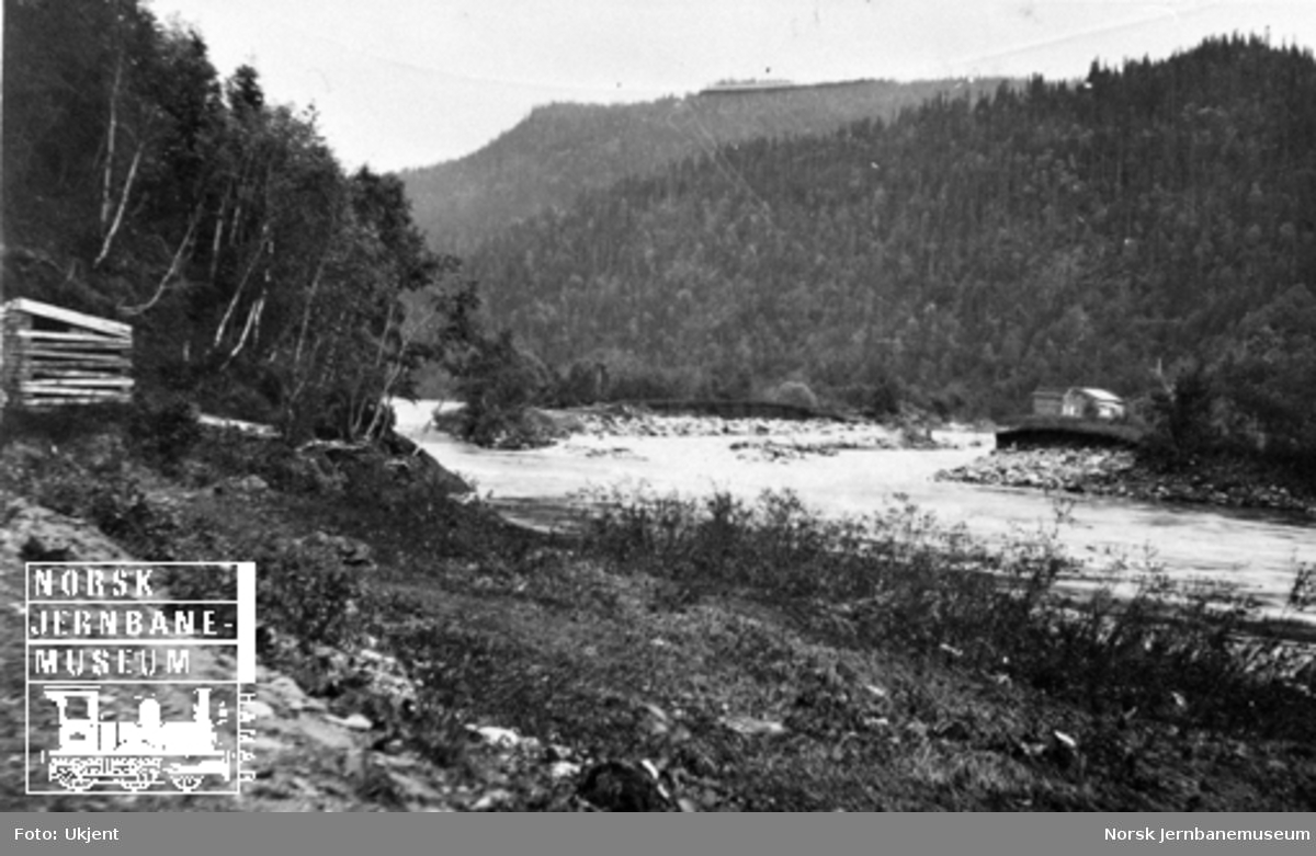 Flomskader i Gauldalen : ødelagte elvebredder