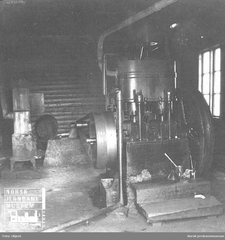Anlegget av Haverstingtunnelen : ventilasjonsanlegget