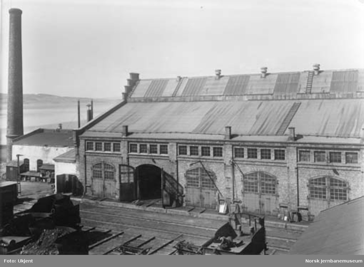 Verkstedet Hamar : lokomotivmonteringsverkstedet
