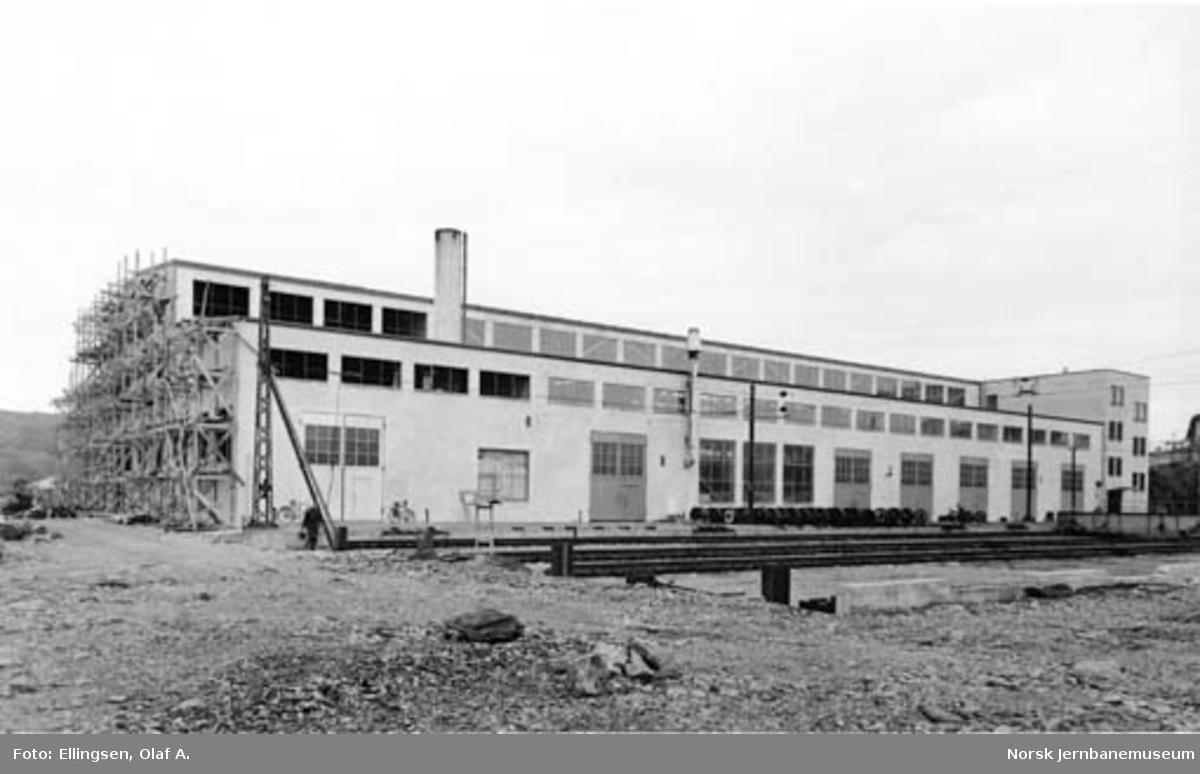 NSB Verkstedet Kvaleberg : bygningene