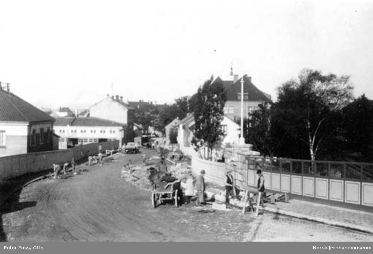 St. Halvards gates ombygging