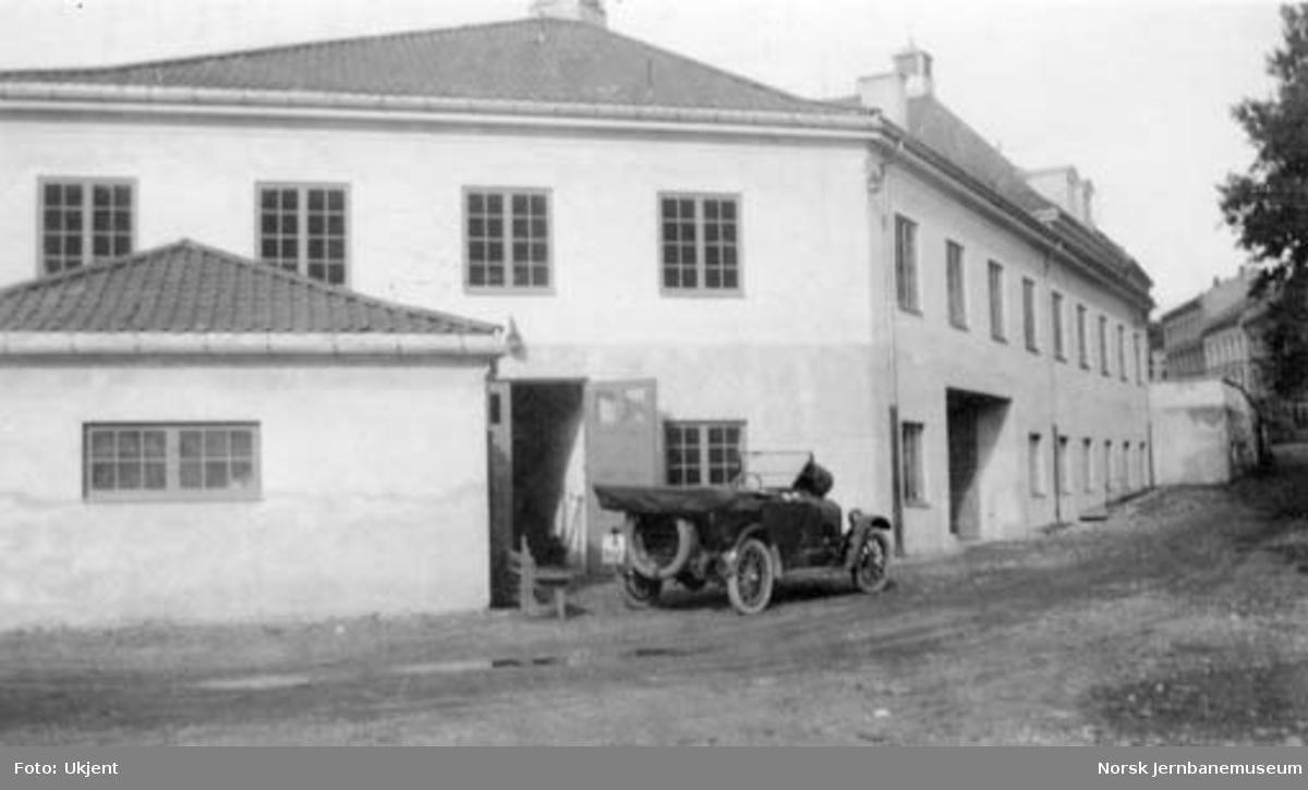Statsbanenes automobilavdelings garasje i Saxegaardsgate 11 i Oslo