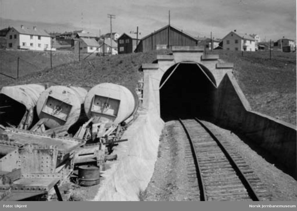 Tyholttunnelen sett fra sør