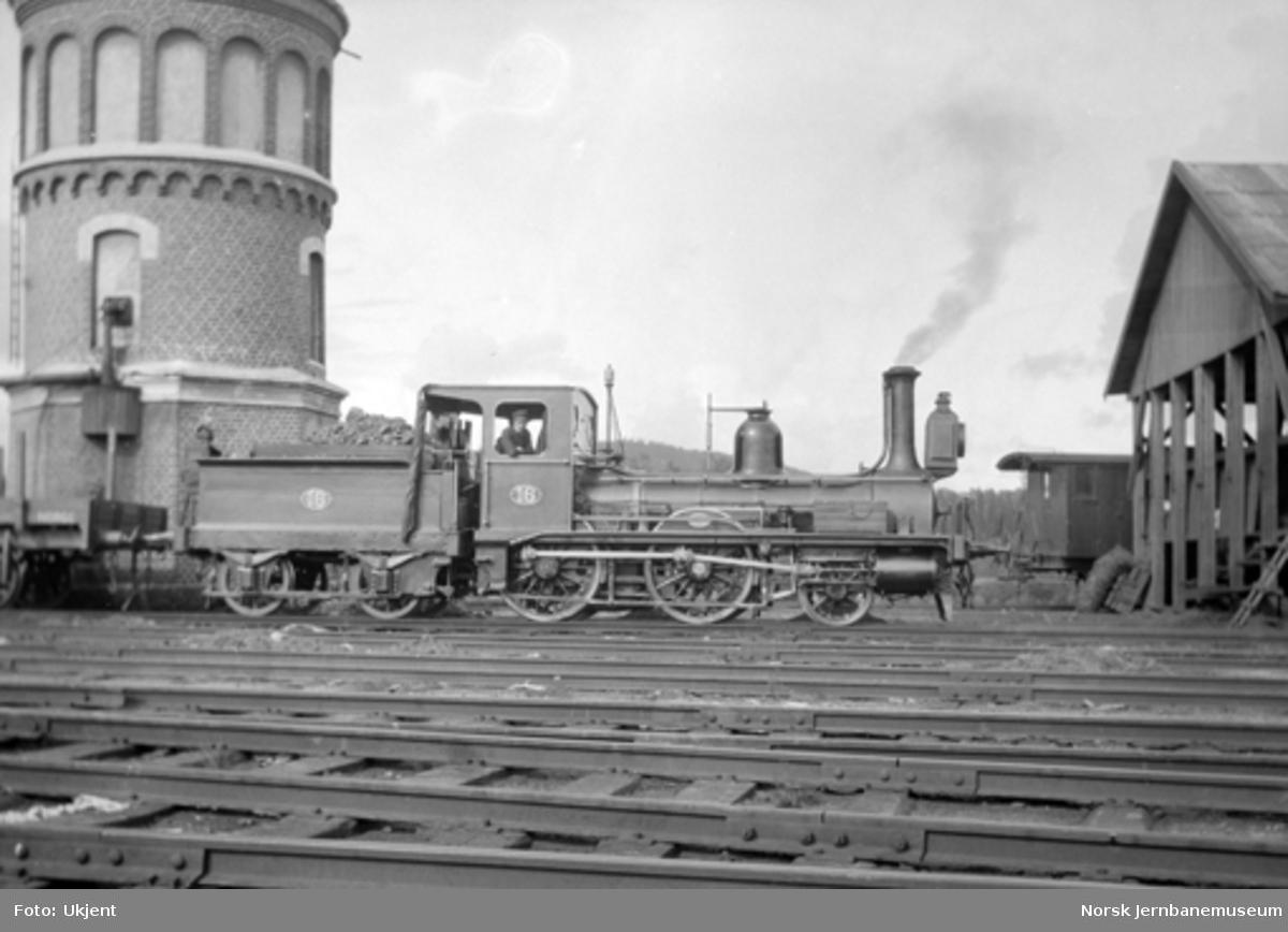 Damplokomotiv type 2a nr. 16