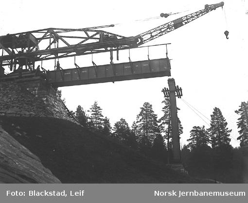 Moripen viadukt : byggingen