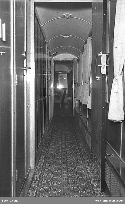 Salongvogn litra Ao nr. 100 for Terboven, interiør