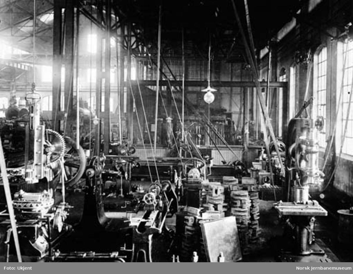 Verkstedet Sundland : maskinverkstedet