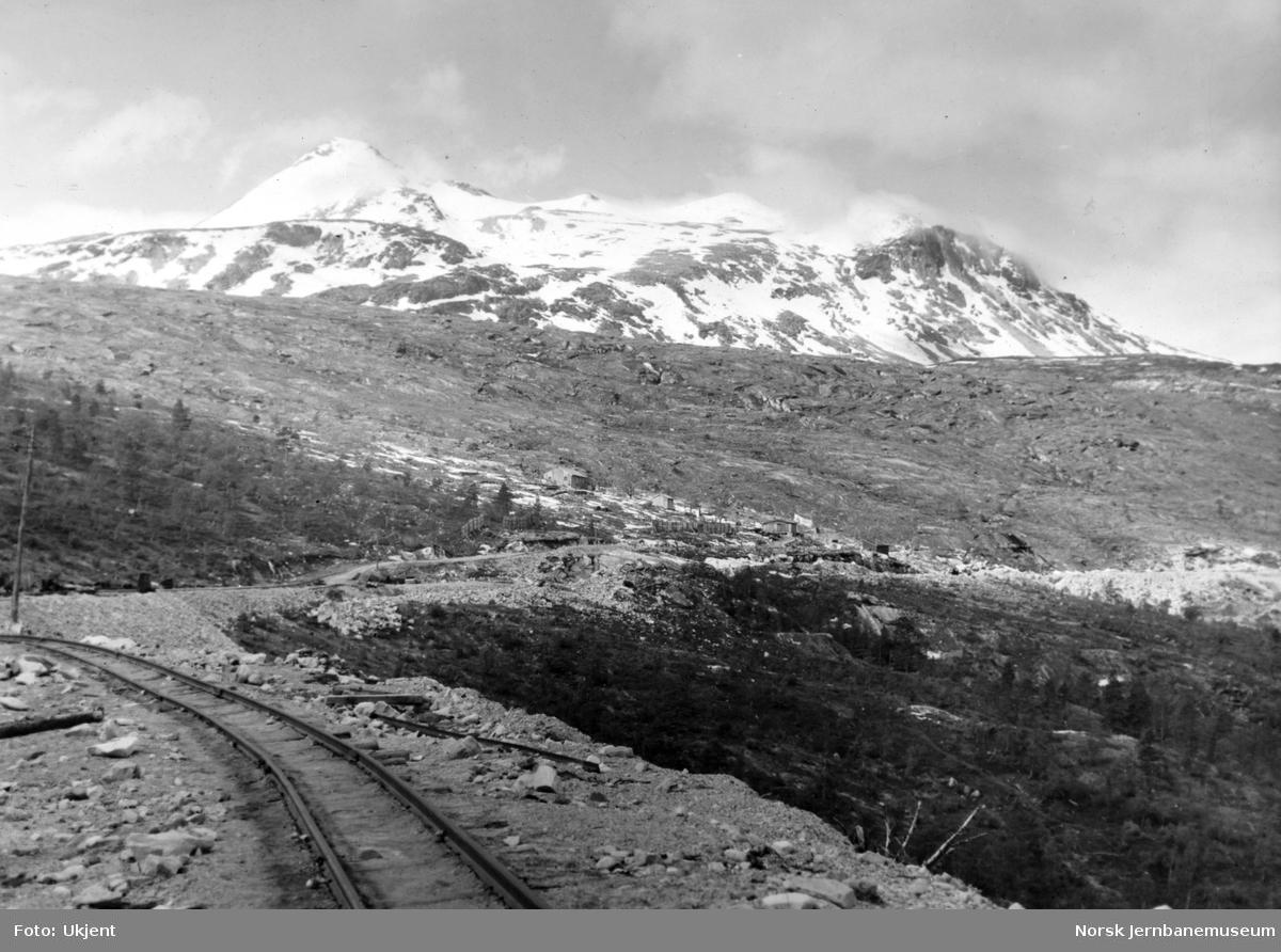 Anleggsspor ved Kjemåga
