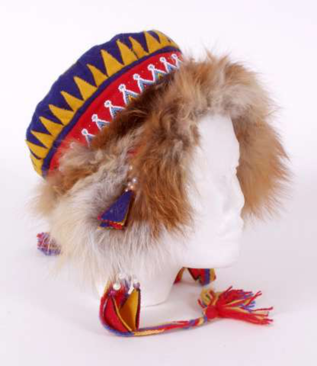 Samisk lue fra Russland.