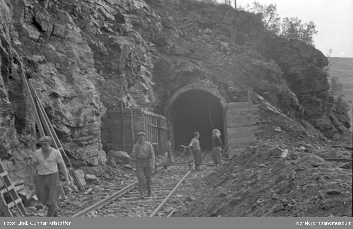 Nordlandsbaneanlegget : søndre forskjæring for Rauberget tunnel