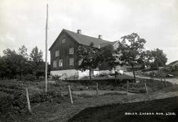 Bøler, Enebakk, Nedre Romerike, Akershus. Hovedbygningen set