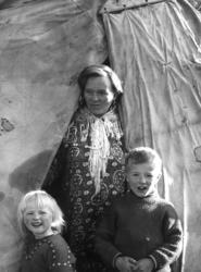 Konen Ellen Marit og barna til Klemet Buljo (Lemun Lemet) i