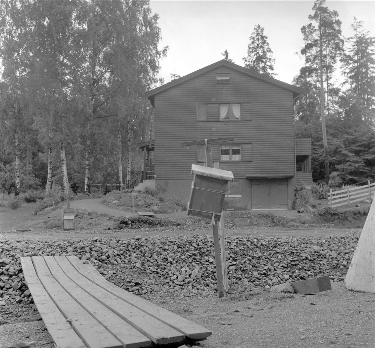 Fornebulandet, Bærum, Akershus, 15.09.1957. Bolig.