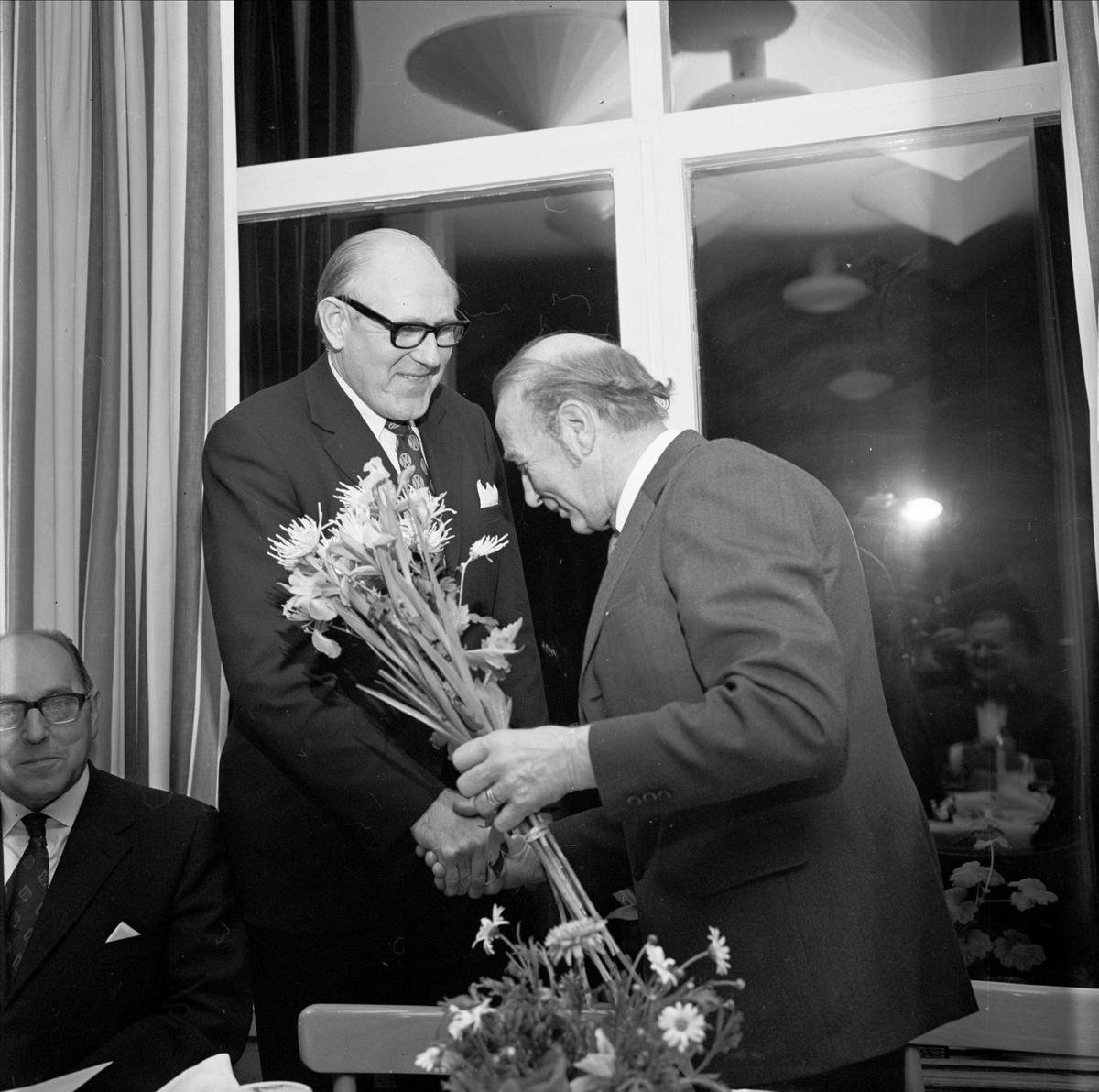 25-årsjubileum vid Tierps sjukhus, Tierp, Uppland 1972