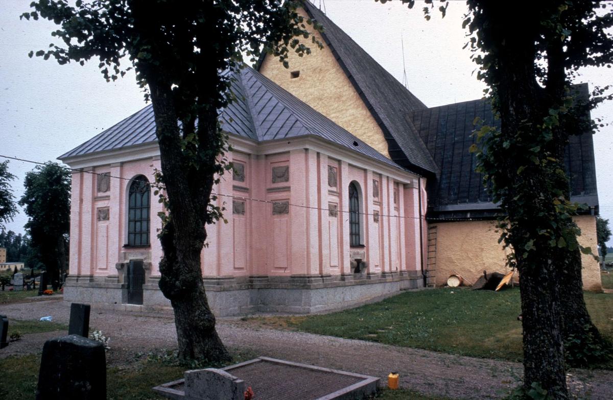 de la Gardieska gravkoret, Veckholms kyrka, Veckholms socken, Uppland 1972