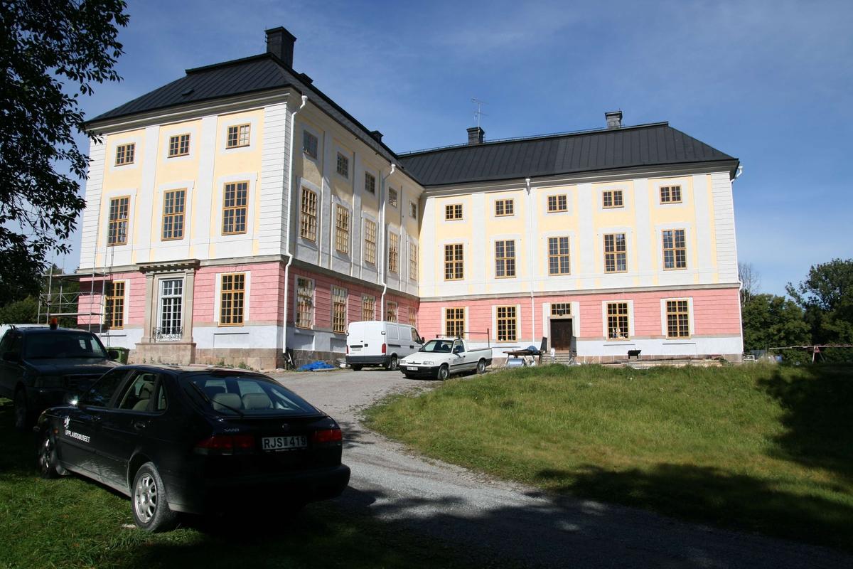 Ekolsunds slott, södra slottsbyggnaden, Husby-Sjutolfts socken, Uppland 2007
