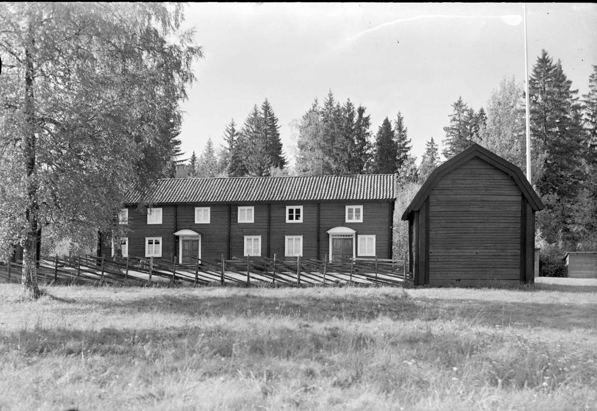 Heby hembygdsgård, Västerlövsta socken, Uppland 1964
