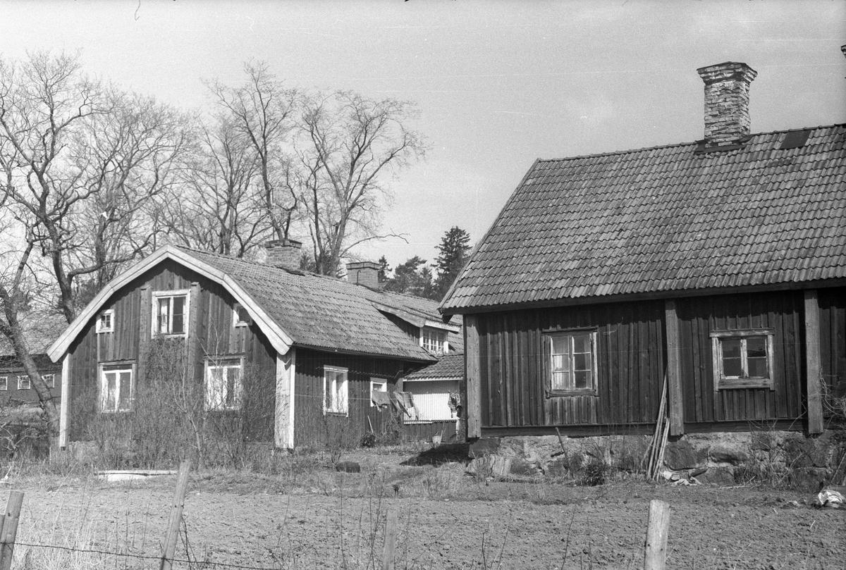 Mangårdsbyggnad, parstuga och brygghus, Ånge 3:1, Ånge, Lena socken, Uppland 1977