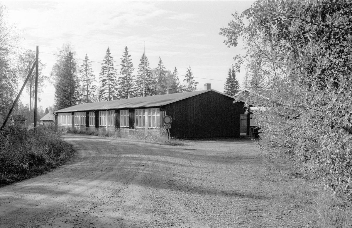 Skolhus, Åkerlänna 8:1, Bälinge socken, Uppland 1983