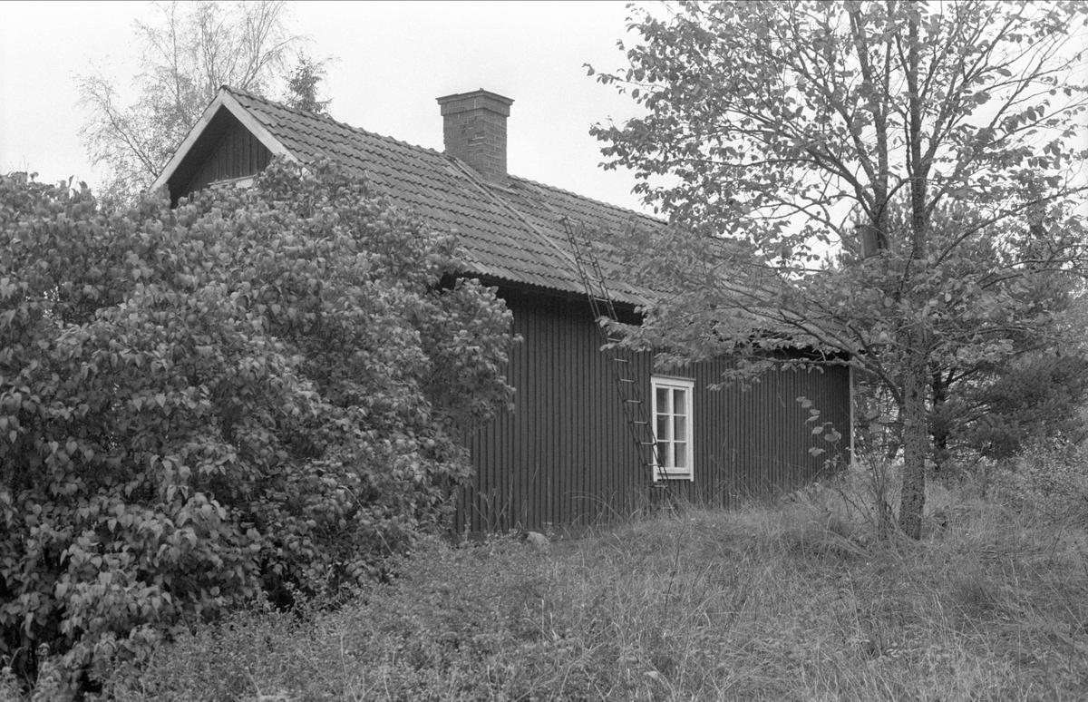 Bostadshus, Källvreten, Bälinge socken, Uppland 1983