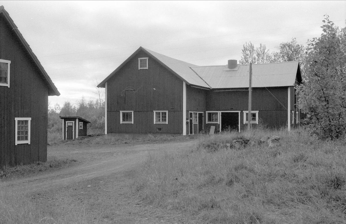 Ladugård, Vreten, Bälinge socken, Uppland 1983