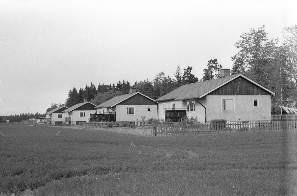 Tjänstebostad, Kvarnbo gård, Kvarnbo, Läby socken, Uppland 1975