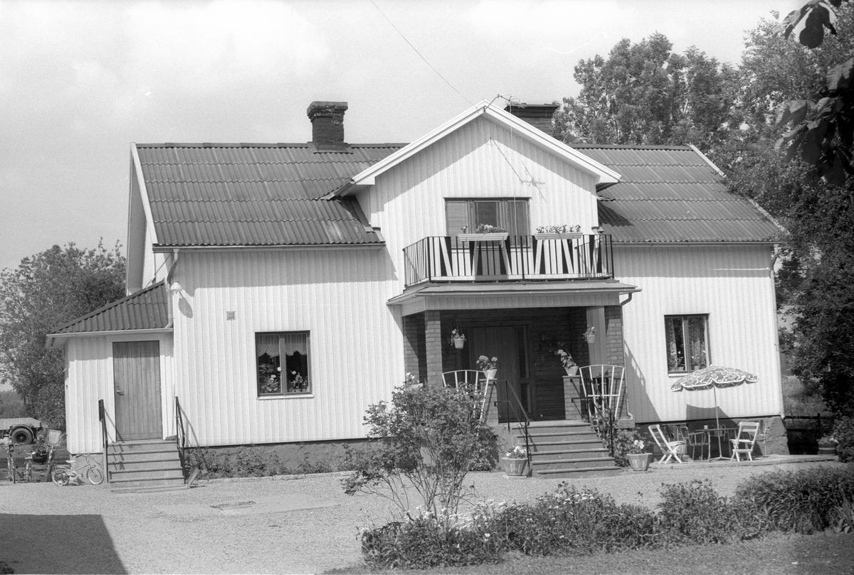 Bostadshus, Österby 4:1, Österby, Läby socken, Uppland 1975