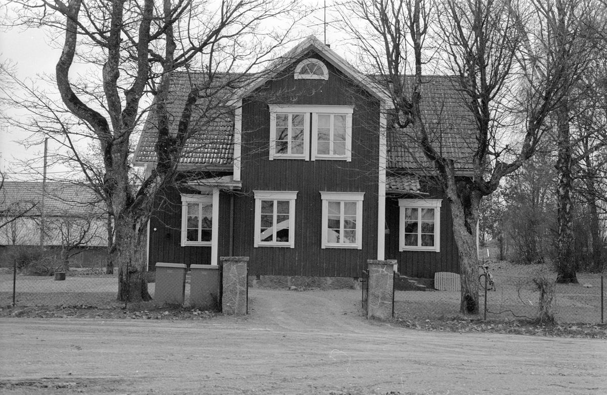Bostadshus, Hagby 1:3, Hagby, Hagby socken, Uppland 1985