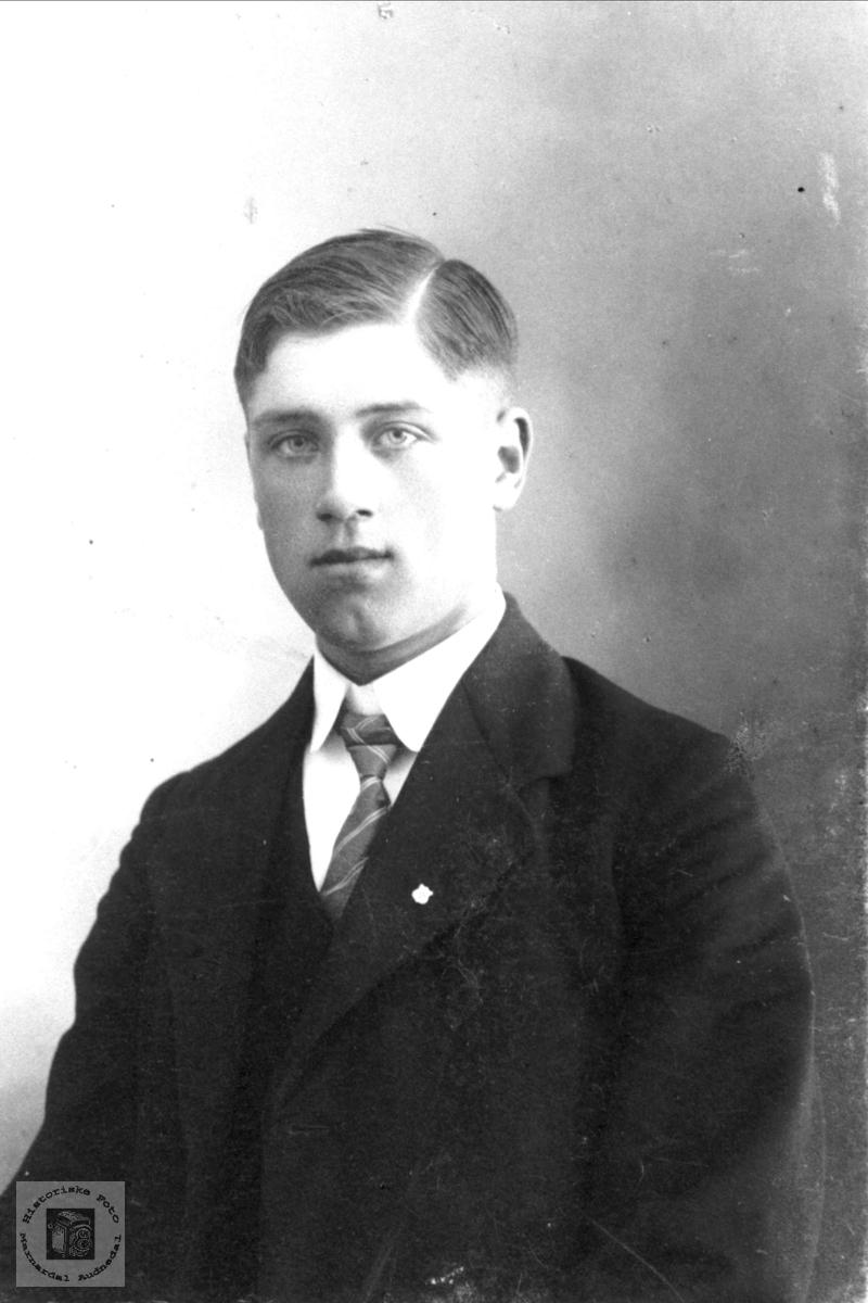Portrett av Kjetil Hærås.