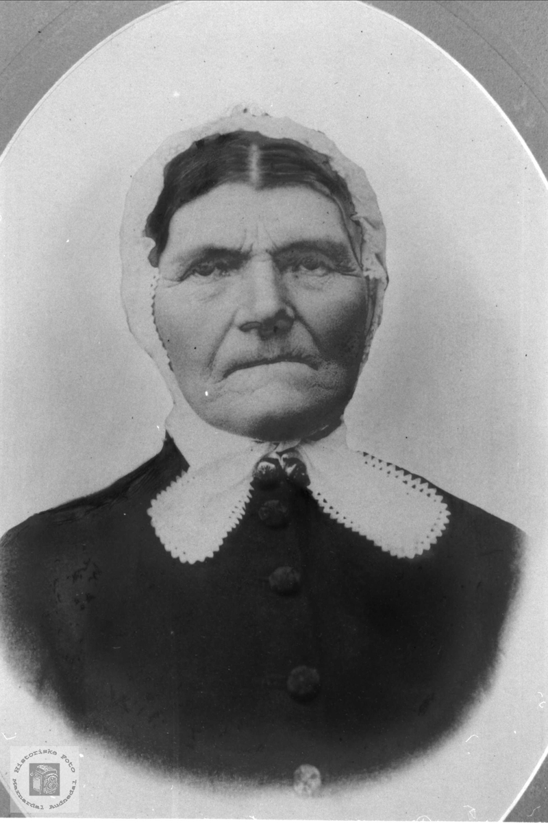 Portrett av Todne Heddeland, Øyslebø.