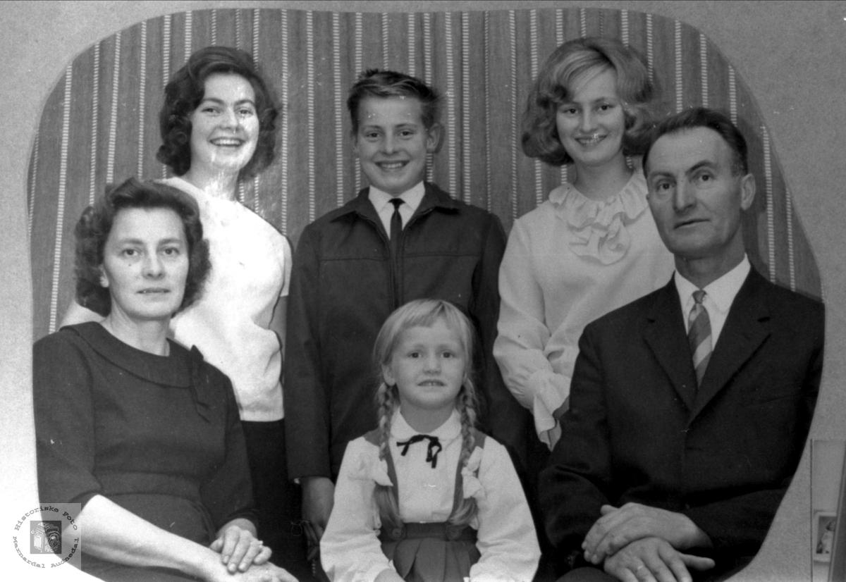 Familiegruppe Bratteberg, Øyslebø.