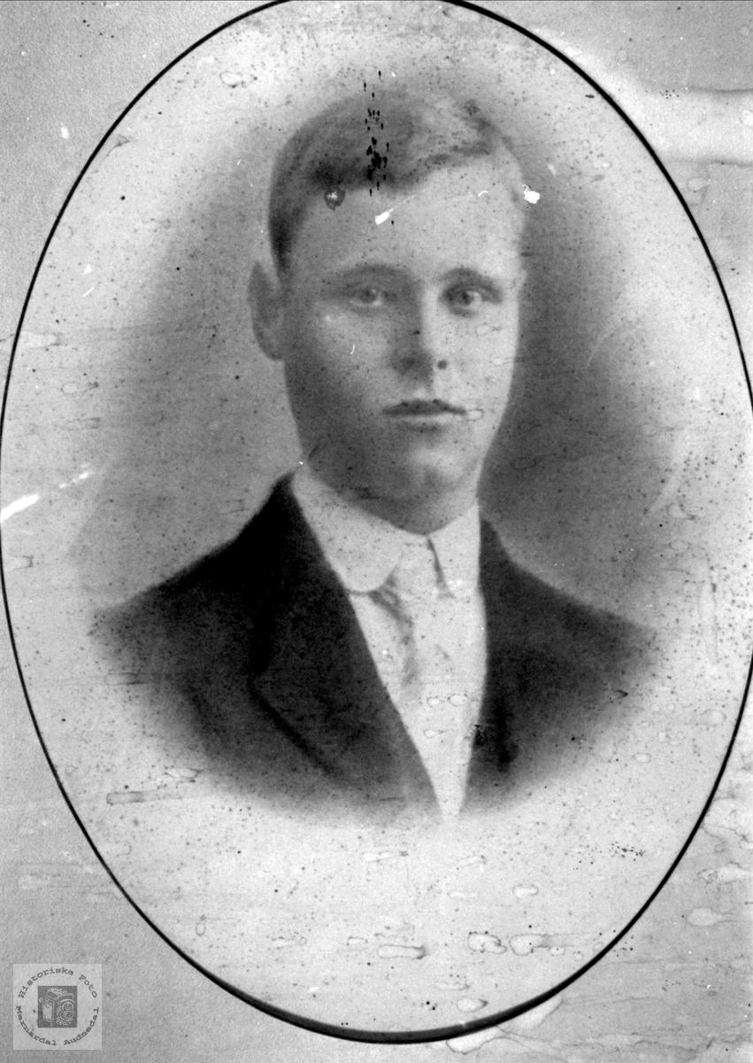 Portrett av Tønnes Valand, Øyslebø.