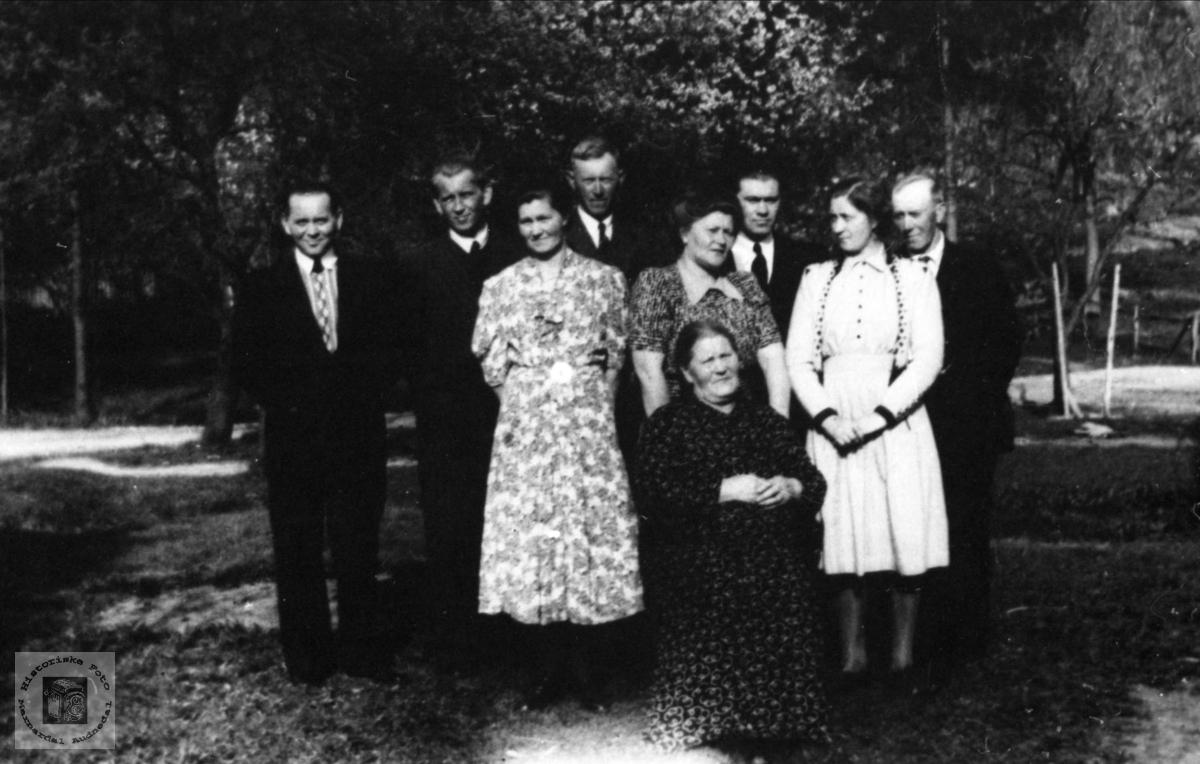 80 årsdag for Tarjer Skjævesland, Øyslebø.