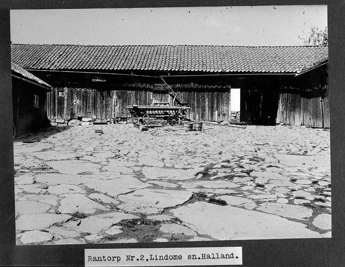 Del av uthus på gården Rantorp 2, Lindome